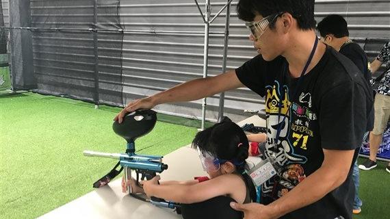 兒童月永和運動中心漆彈定靶體驗