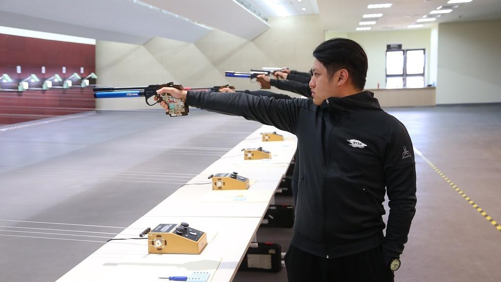 林口國民運動中心-空氣槍射擊場