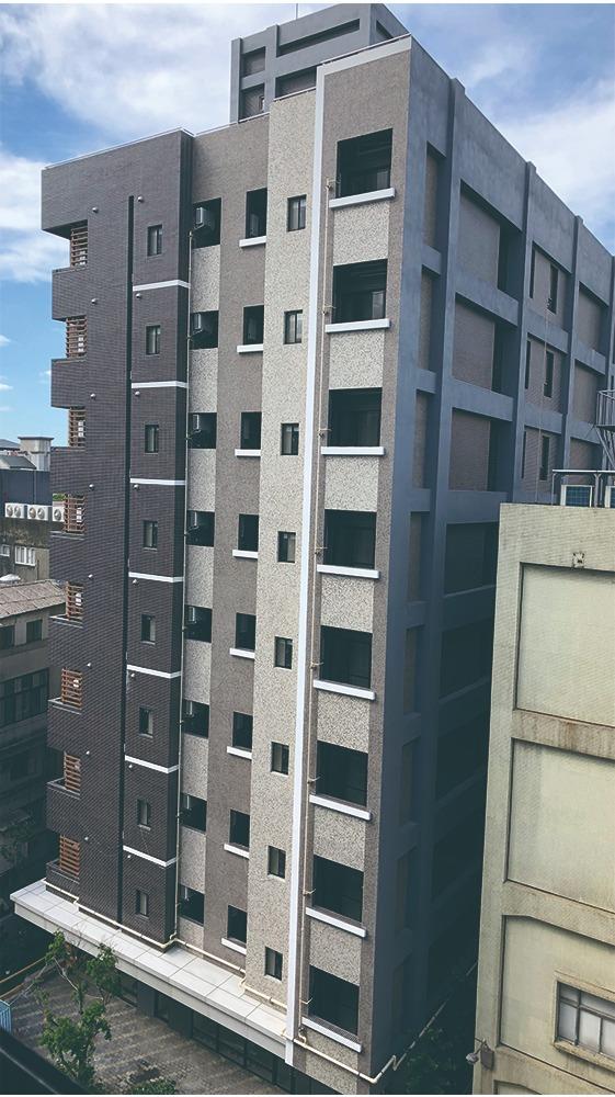 板橋府中青年社會住宅-立面外觀