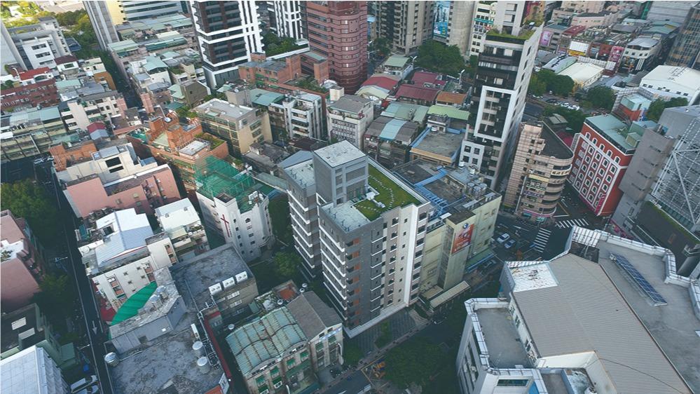 板橋府中青年社會住宅-空拍圖