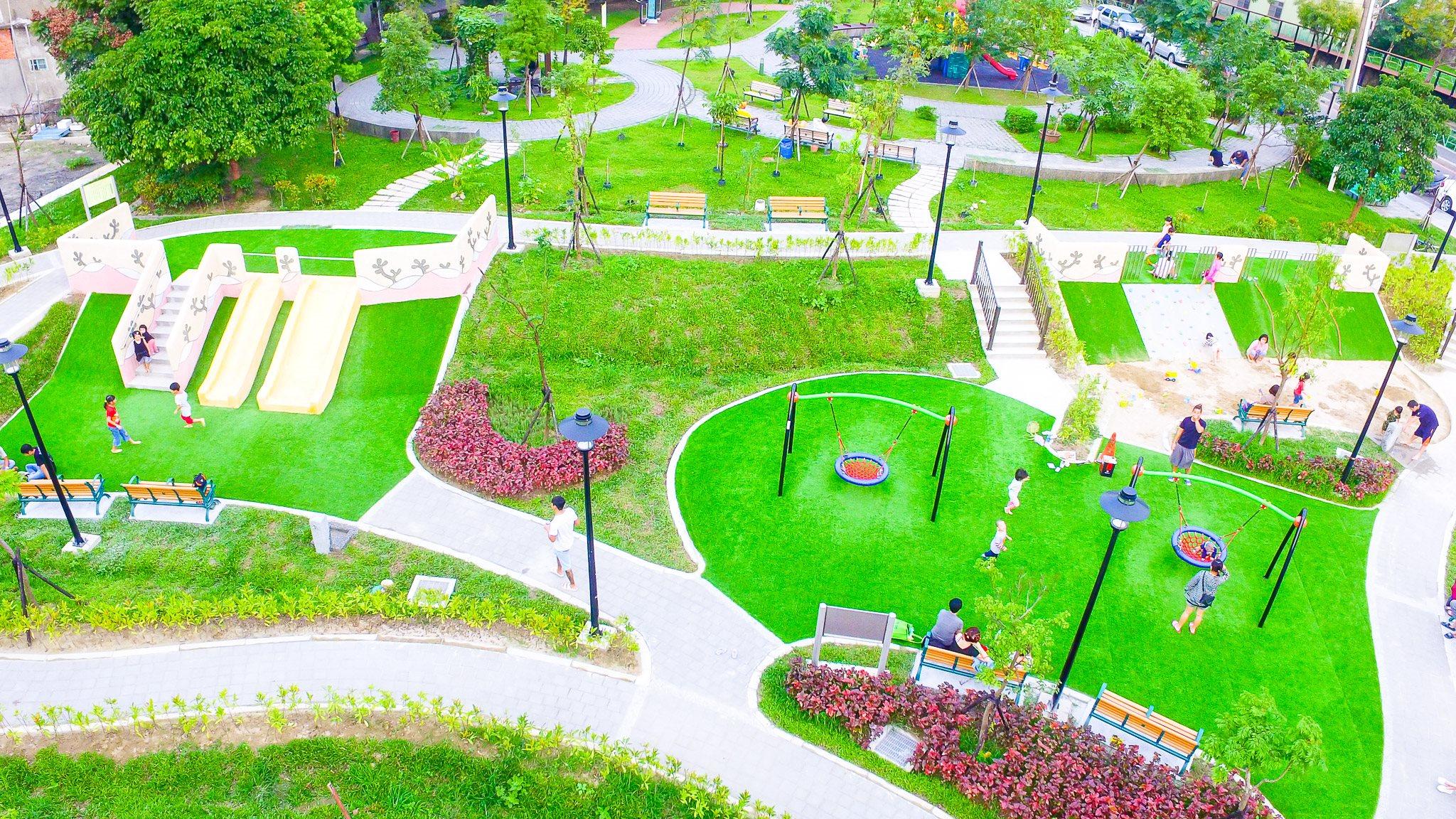 新建樹林區鹿角溪(山佳公兒6)公園