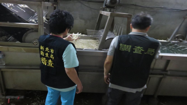 會同市調處與食藥署聯合稽查本轄豆芽菜製造廠
