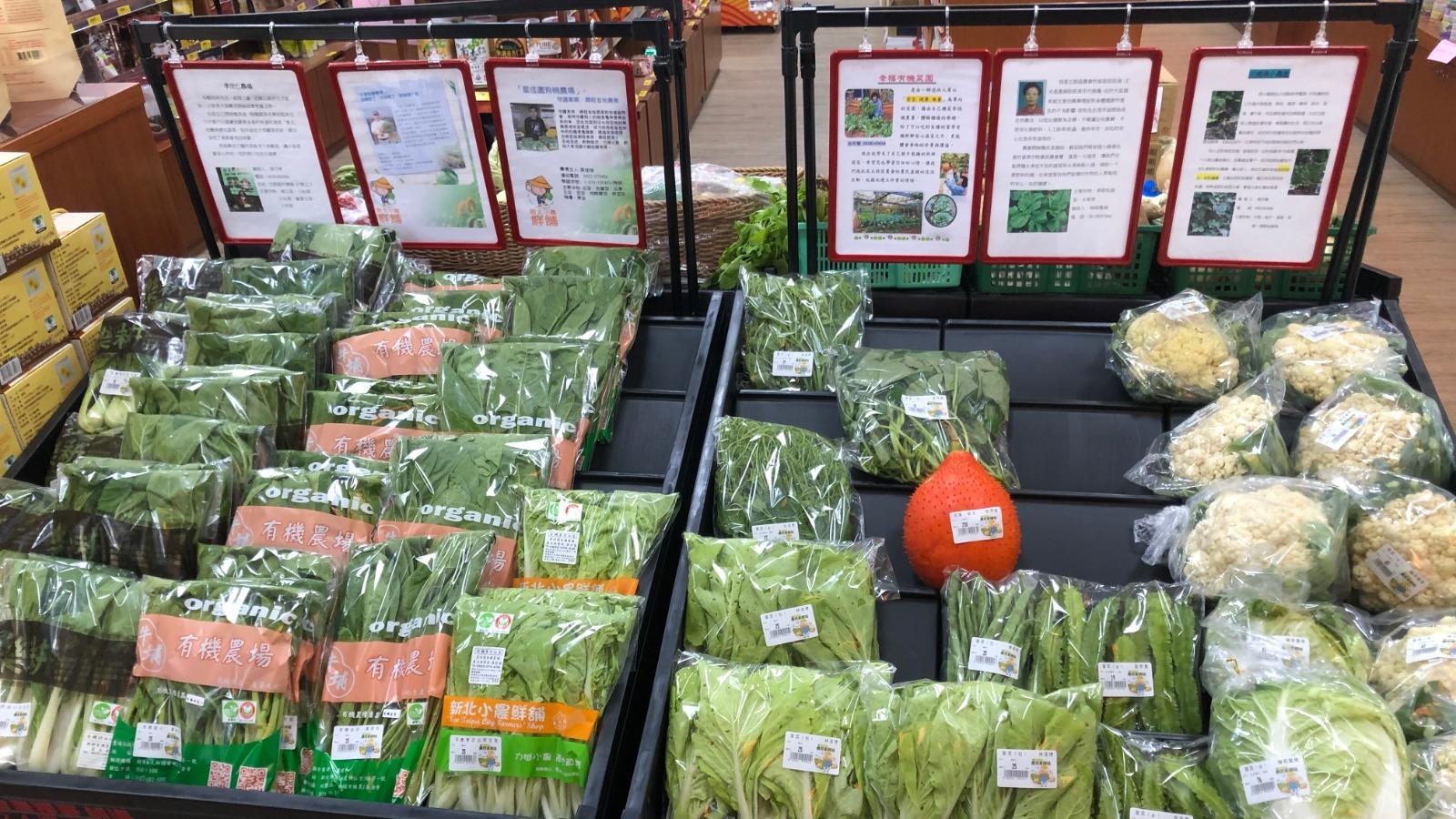 產品皆有完整包裝及農場資訊