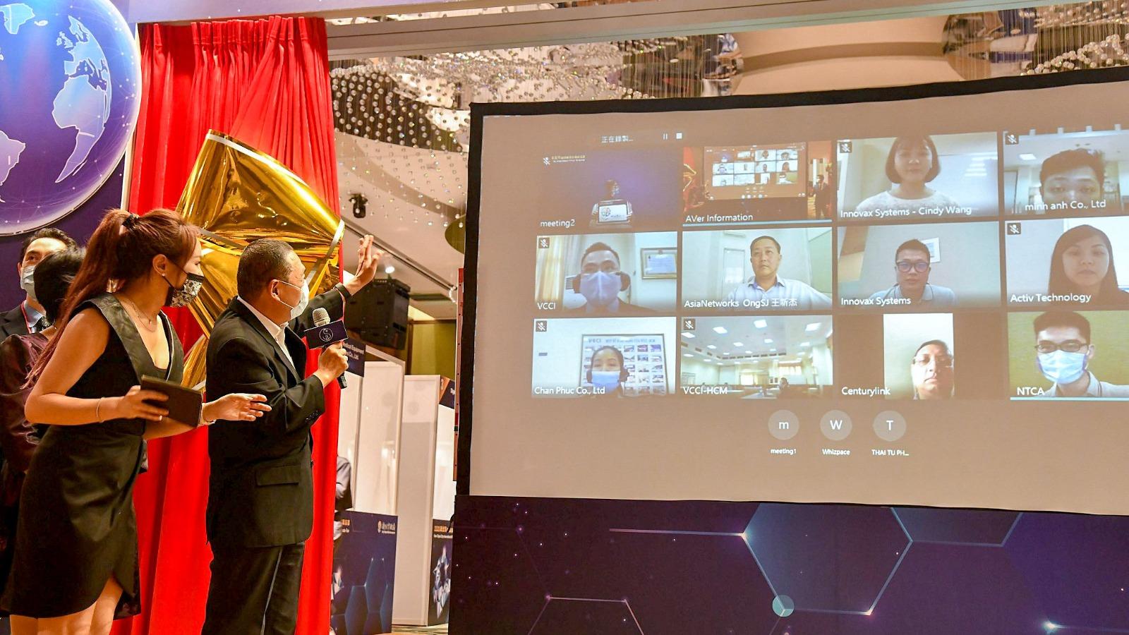 109年國際視訊採購商洽會揭幕儀式