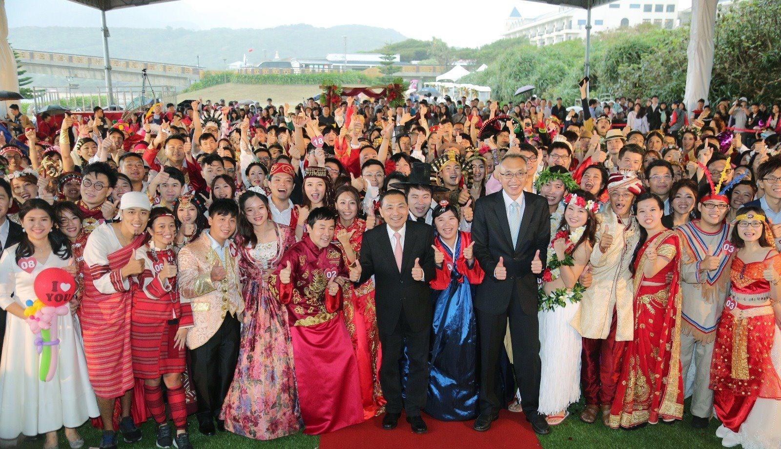 新北聯合婚禮 讓新人幸福滿滿