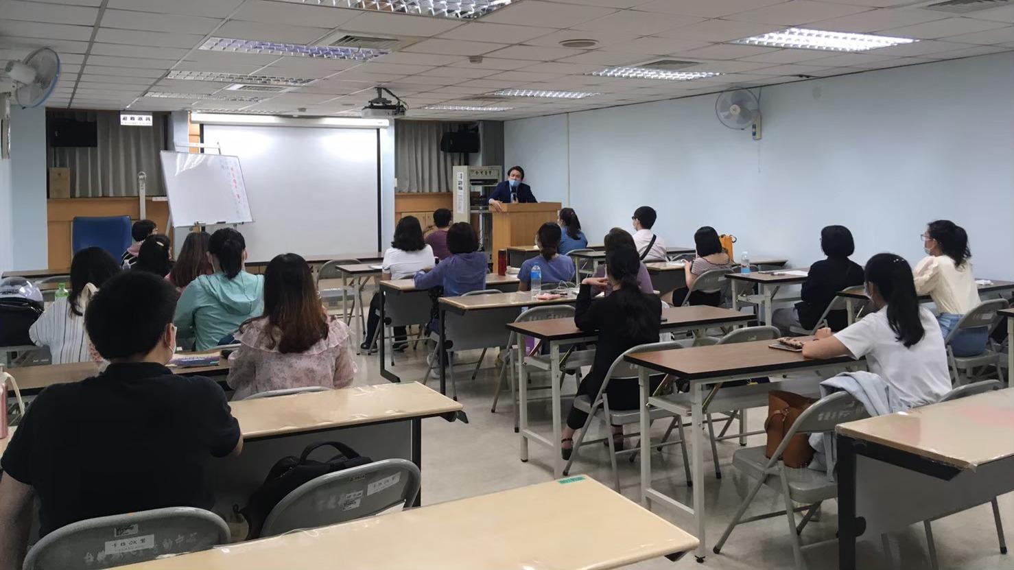 109-1勞工大學上課情形
