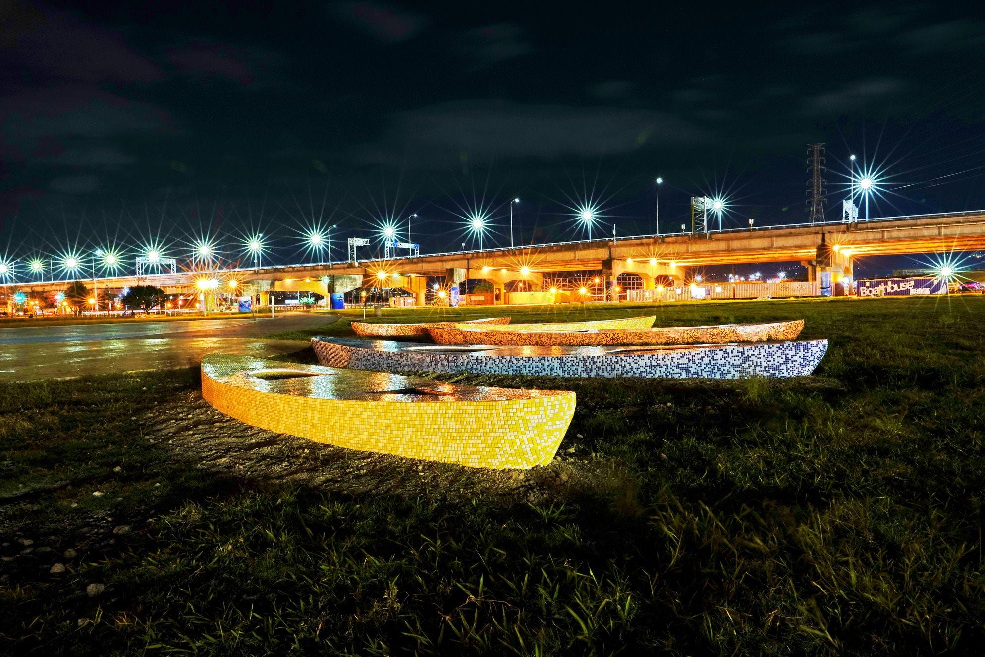 新北市二重疏洪道微風運河水域運動環境改善計畫-水域運動環境改善工程
