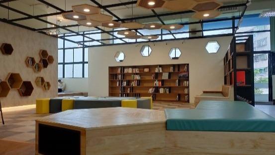 三峽分館閱讀角空間