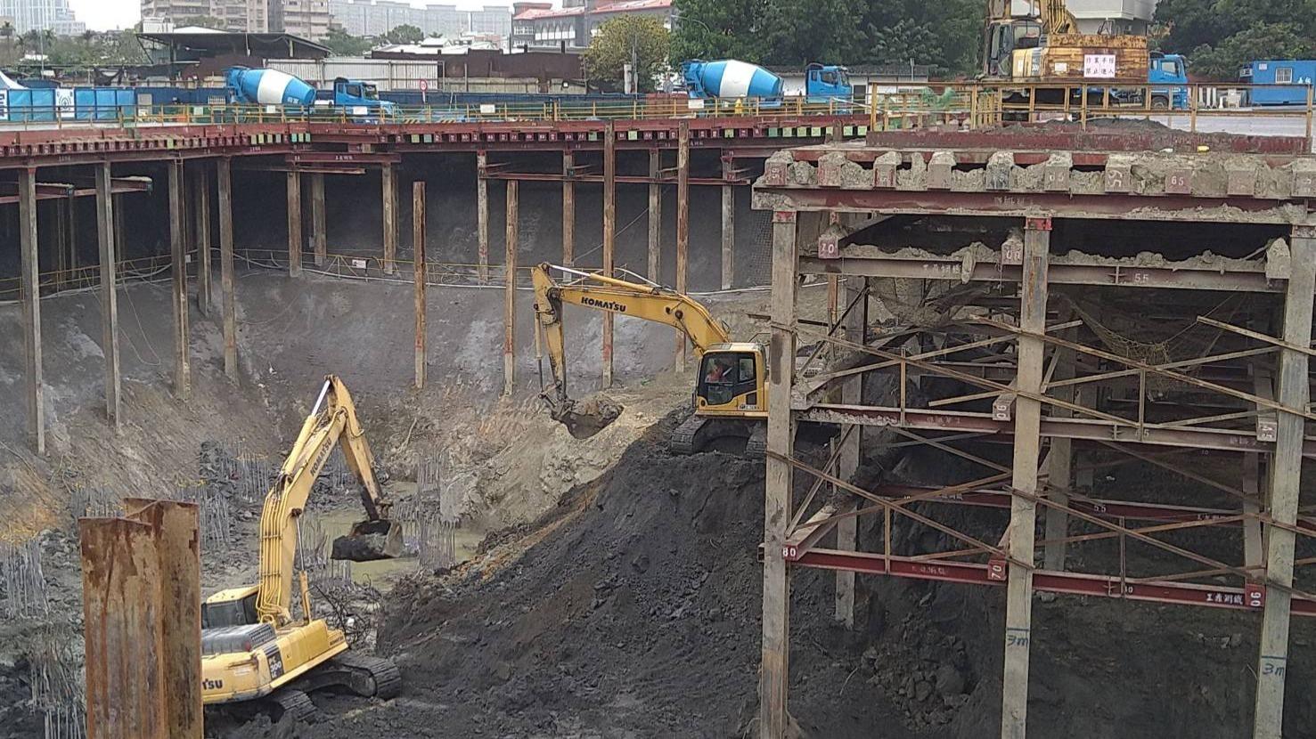 連城路第一區D66-D68第一階淺挖作業