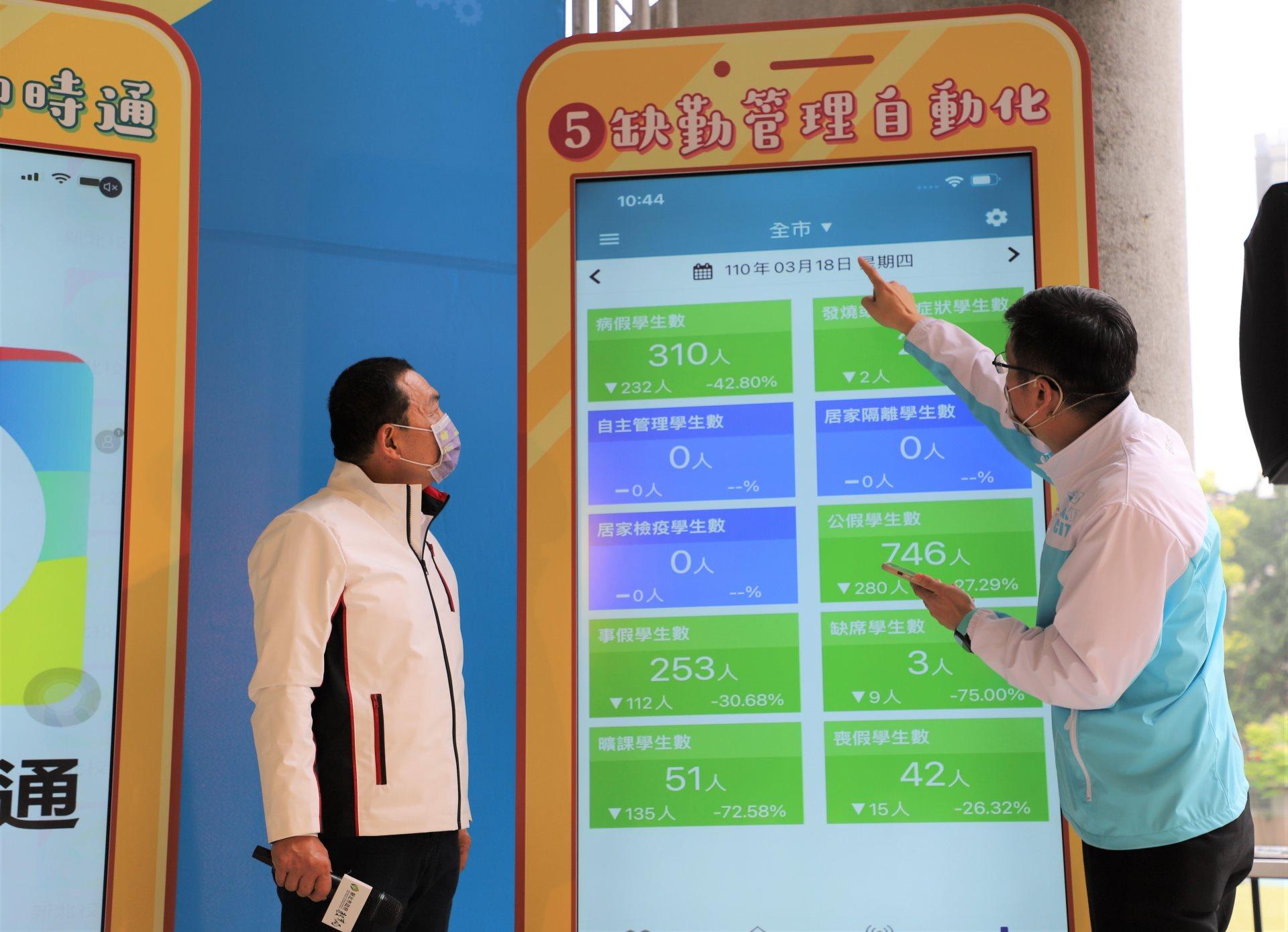 新北校園APP「上課yo!」啟用   首創數位點名智慧校園