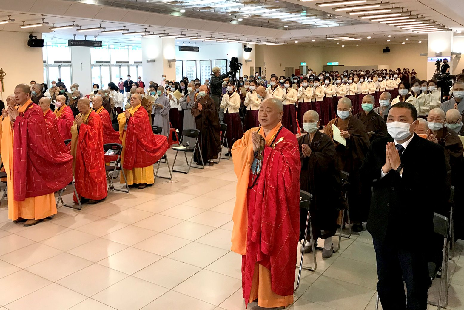 新北市佛教會舉辦「浴佛節慶典大會」