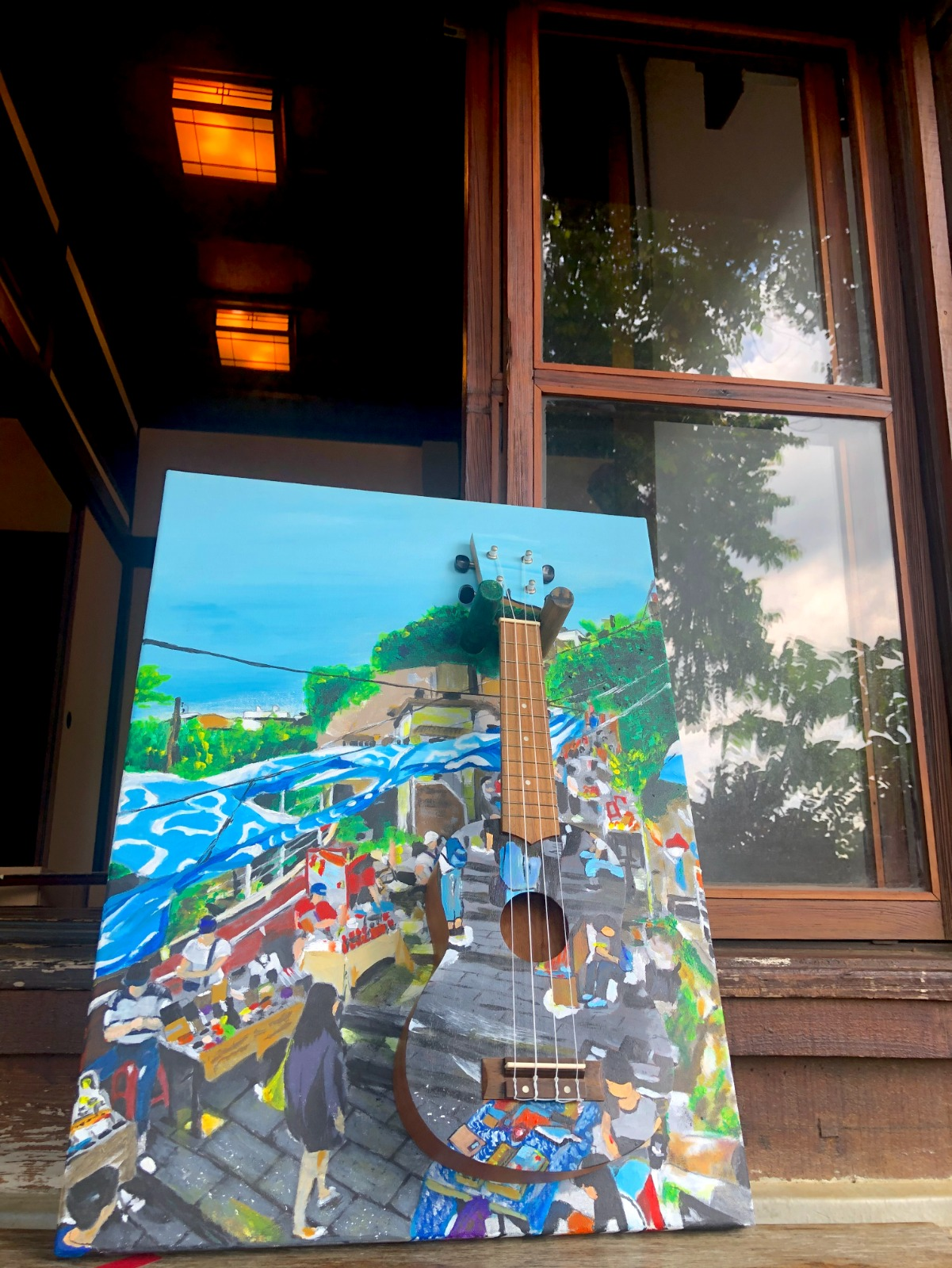 「街聲」作品:淡水重建街